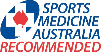 Sports Medicine Australia Recommended Logo